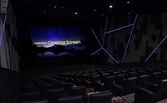 LED в кинотеатре